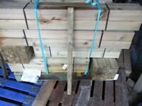 Timber decking spindles 43mmx43mmx900mm