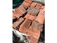 mix of roof tiles
