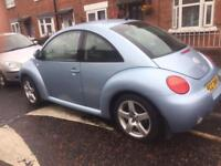 2003 VOLKSWAGEN BEETLE 1.6 ONLY 67K FULL SERVICE HISTORY ALLOY WHEELS DRIVES FIRST CLASS!