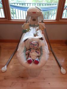 My Little Lamb Cradle 'n Swing, $100 OBO