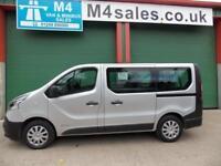 Renault Trafic 9 seat swb minibus,a/con