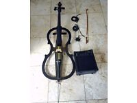 Used electric cello + small Amp