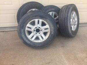 2004 Ford F-150 rims and tires