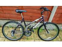 Great 24inch magna mountain bike in good condition all fully working