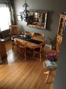 Ten Piece Dining Room Set