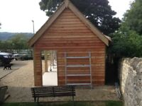 """8"""" Larch Featheredge Timber Cladding Weatherboard Lapboard"""