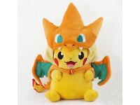 pokemon pikachu plush soft toy baby new