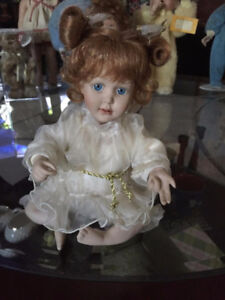 Porcelain Doll Cindy Mcclure Wishing On a Star