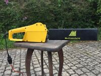mains electric chainsaw