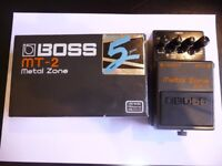 Roland Boss MT2 Medal Zone Guitar Effects Pedal