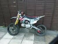 Crf110 wpb race 140 with new cwr 160 engine