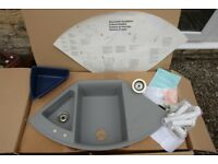 Sink for kitchen or utility