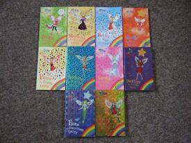 23 Children's Books - Rainbow (Daisy Meadows), Jacqueline Wilson, Enid Blyton, etc See Description.