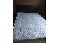 Double bed and matress for sale
