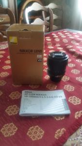 Nikon 18-105 mm lens