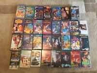 Collection of VHS movies (including Disney movies)