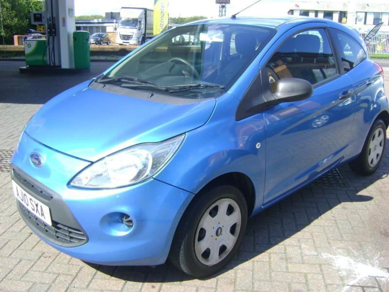 Ford Ka 1.2 2010.5MY Studio FOUR SERVICE STAMPS