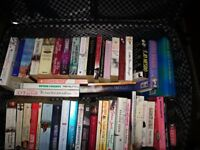 Mixed selection of books for sale. (80)