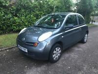 NISSAN MICRA S AUTO 2003 3 DOOR DRIVES THE BEST VERY CLEAN INSIDE AND OUT BARGAIN