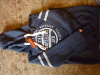 Newtrack and field Superdry hoodie with tag in size 16/xl
