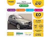 BMW X3 M Sport FROM £72 PER WEEK!