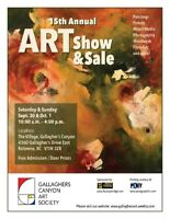 Gallaghers Canyon Art Show and Sale