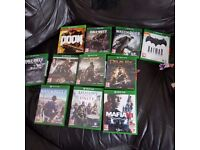 Xbox one games offerd or swaps
