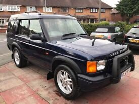 2001 Land Rover Discover TD5 7 Seater