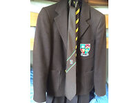Jordanhill secondary school blazer and ties, rarely worn
