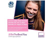 Free female rugby taster session! New players welcome!