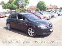2005 (55 Reg) SEAT Leon 2.0 TFSI SPORT 5DR Hatchback BLACK + 2 KEYS