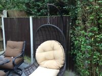 Garden Patio Swing with cushions