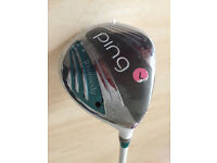 PING Rhapsody - Women's No5 wood 22* R/H *Brand New*