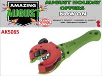 SEALEY 2-IN-1 RATCHETING PIPE CUTTER Ø6-28MM AK5065