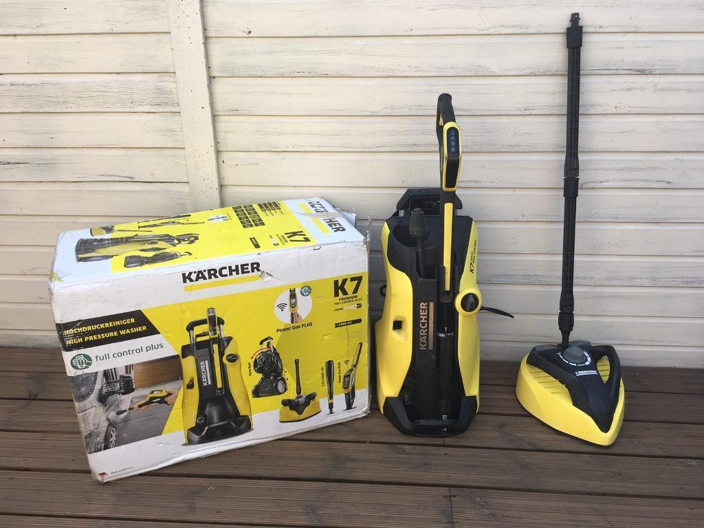 karcher k7 premium full control home pressure washer 2017. Black Bedroom Furniture Sets. Home Design Ideas