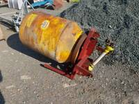 Teagle tractor three point linkage pto driven spiromix cement mixer