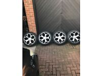 """Polished 18"""" alloy ST style alloy wheel to fit TRANSIT"""