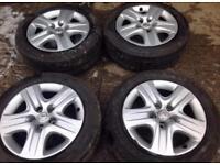 "Vauxhall insignia 17"" steel wheels"