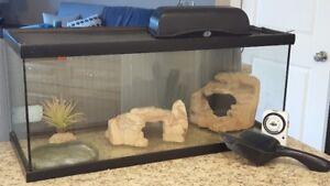 40 Gallon Reptile Terrarium