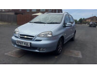 2007 AUTOMATIC CHEVROLET TACUMA 12 MONTHS MOT DRIVES GREAT