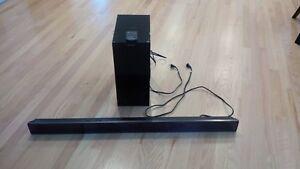 Panasonic SU-HTB Sound Bar and SB-HWA520 Wireless Subwoofer