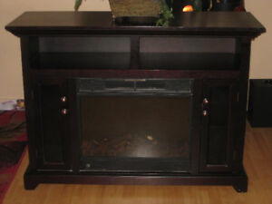 Electric Fireplace / TV Stand ~ $120