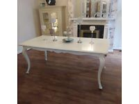 BEAUTIFUL FRENCH STYLE DINING TABLE