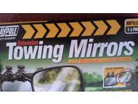 Maypole caravan extension mirrors. Brand new in box.