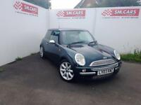 2003 03 MINI ONE SALT PACK.AMAZING VALUE.STUNNING BRITISH RACING GREEN.MOT FEB18
