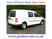 2014 (14) VOLKSWAGEN C20 MAXI KOMBI LWB 5 SEAT CREW CAB / DOUBLE CAB VAN, Small