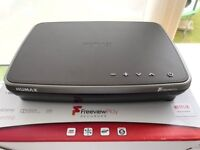 HUMAX FREEVIEW PLAY HD TV RECORDER, BRAND NEW, WITH BOX AND ALL ACCESSORIES, NEVER USED, 500GB, WIFI