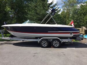 Chris Craft Launch 22 bowrider & trailer