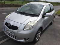 2007 TOYOTA YARIS 3 DOOR 1.3 T/SPIRIT KEYLESS ENTRY