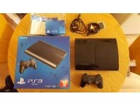 Sony PlayStation 3 super slim - Boxed! Excellent condition Bargain!